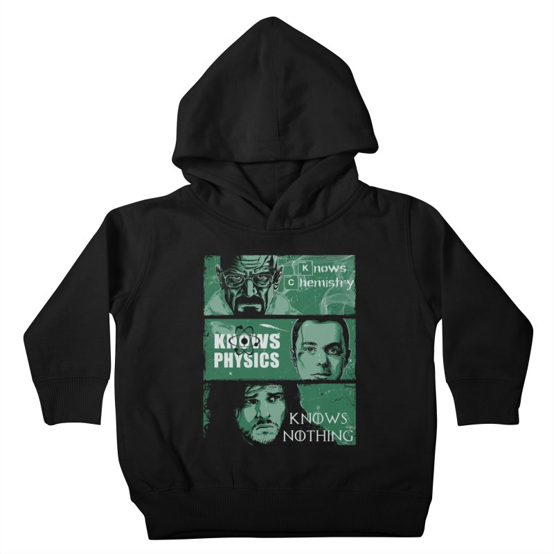 Knowledge Rules Kids Toddler Pullover Hoody by Ricomambo
