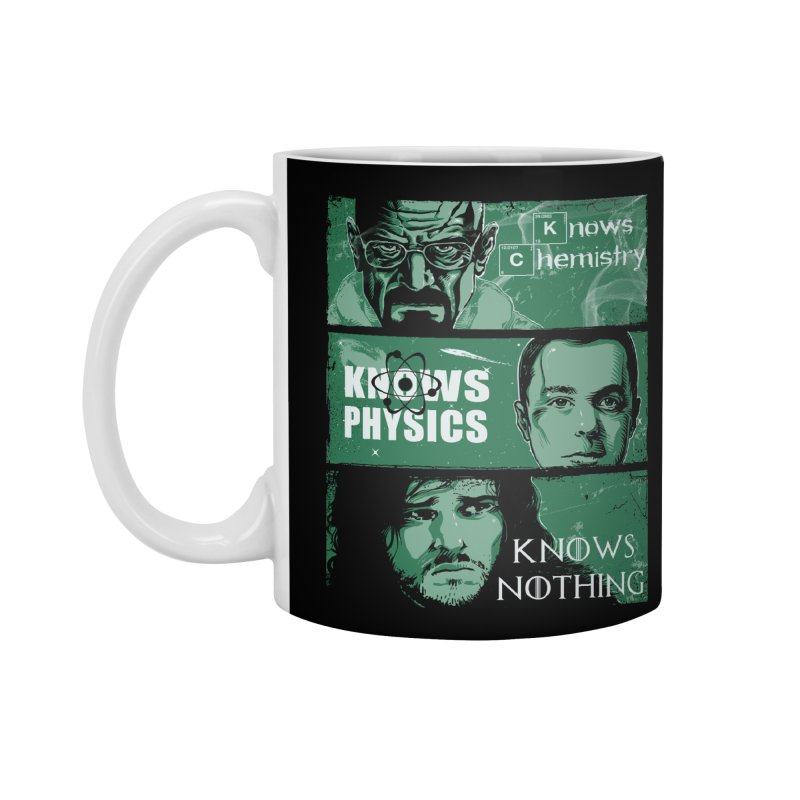 Knowledge Rules Accessories Mug by Ricomambo