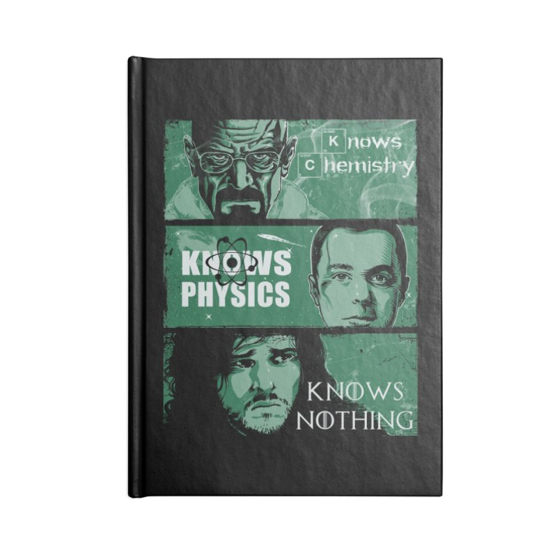 Knowledge Rules Accessories Notebook by Ricomambo
