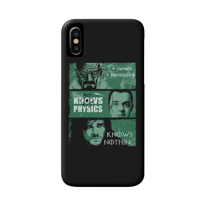 Knowledge Rules Accessories Phone Case by Ricomambo
