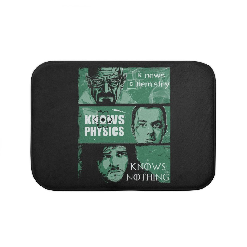 Knowledge Rules Home Bath Mat by Ricomambo