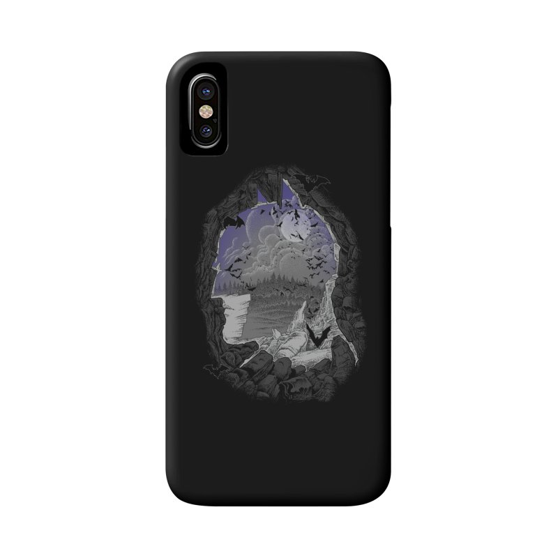 Bat Cave Accessories Phone Case by Ricomambo