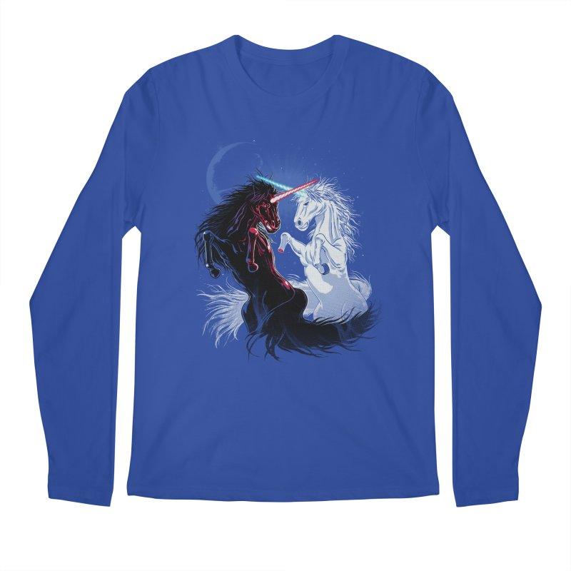 Unicorn Wars Men's Longsleeve T-Shirt by Ricomambo