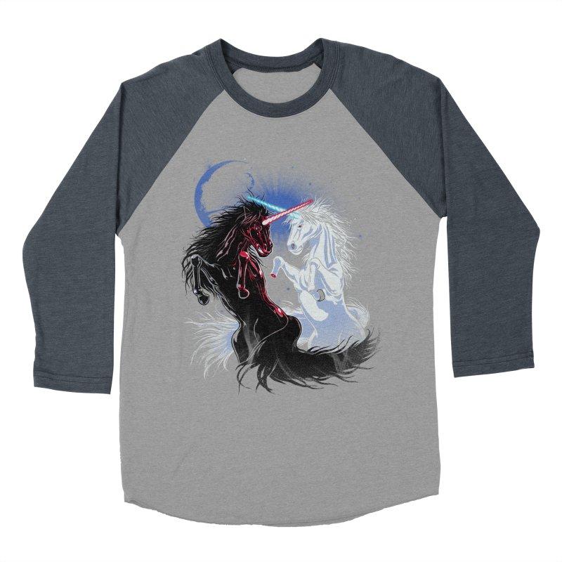 Unicorn Wars Women's Baseball Triblend T-Shirt by Ricomambo
