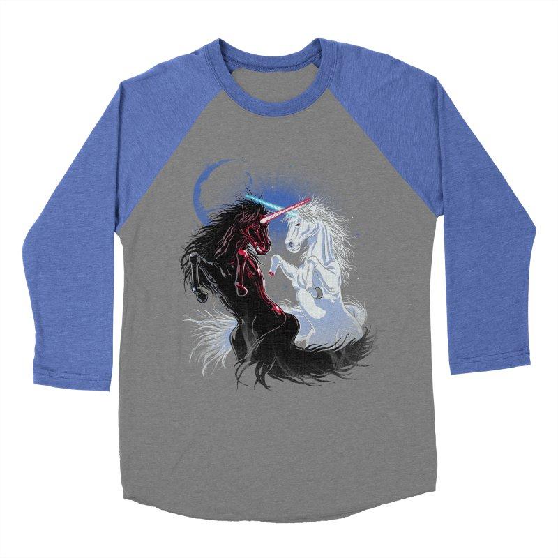 Unicorn Wars Men's Baseball Triblend T-Shirt by Ricomambo