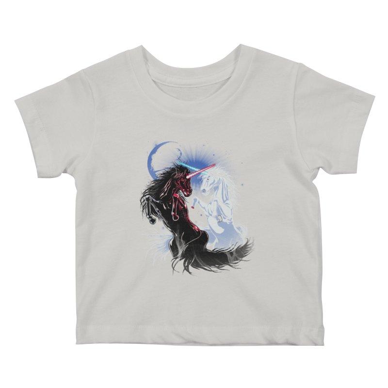Unicorn Wars Kids Baby T-Shirt by Ricomambo