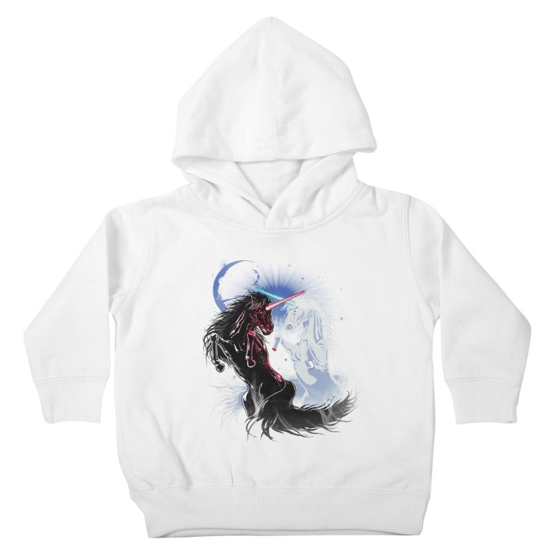 Unicorn Wars Kids Toddler Pullover Hoody by Ricomambo