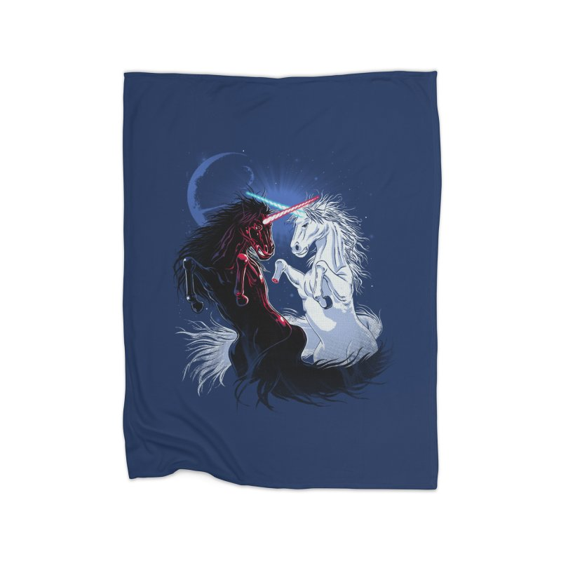 Unicorn Wars Home Blanket by Ricomambo