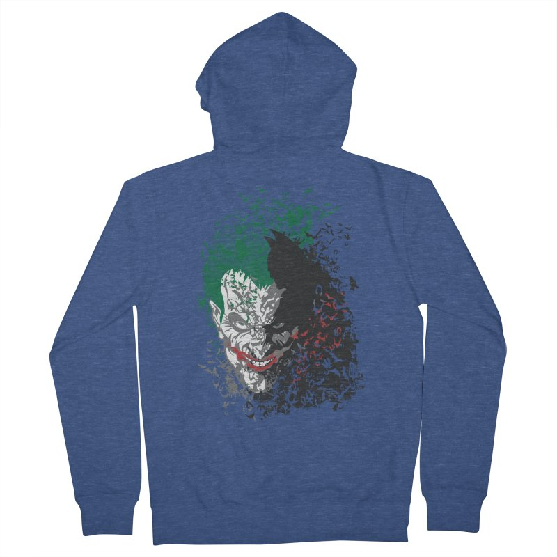 Arkham Bats Women's Zip-Up Hoody by Ricomambo