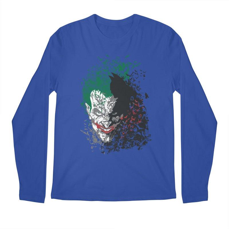 Arkham Bats Men's Longsleeve T-Shirt by Ricomambo