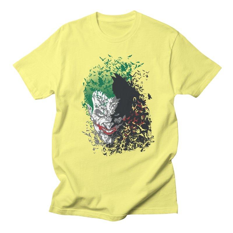 Arkham Bats Men's T-shirt by Ricomambo