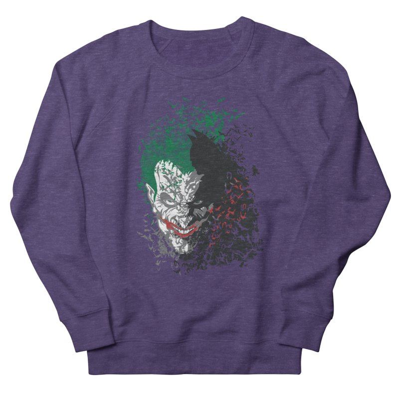 Arkham Bats Men's Sweatshirt by Ricomambo