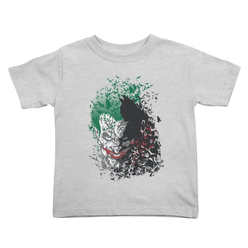 Arkham Bats Kids Toddler T-Shirt by Ricomambo