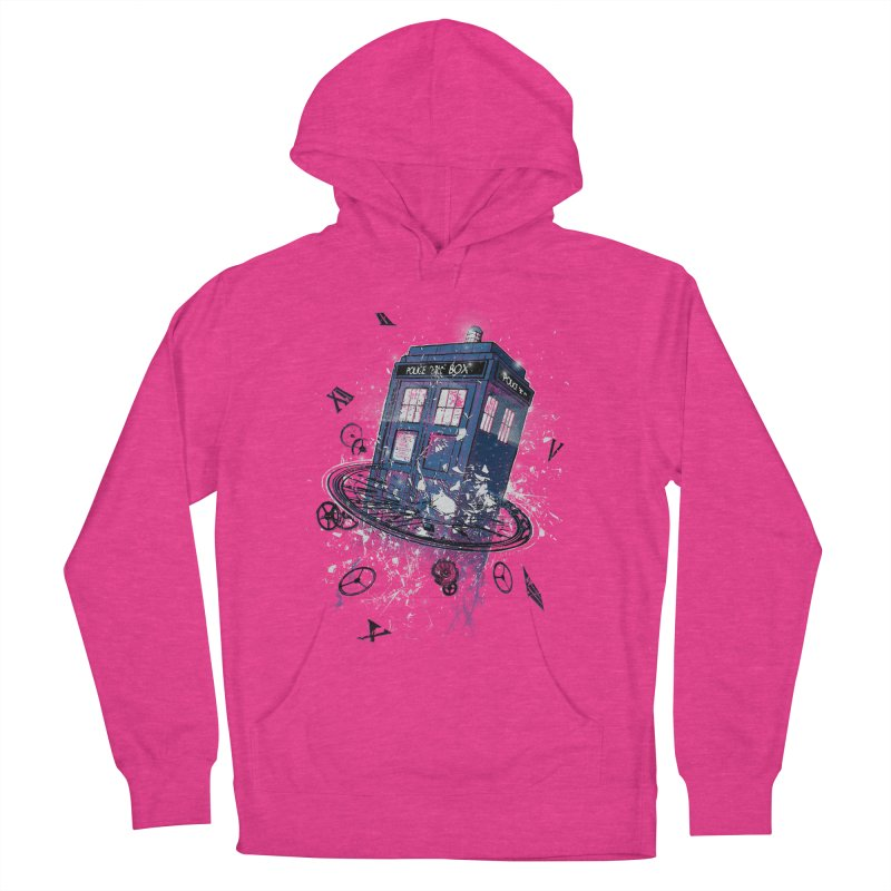 Breaking the Time Women's Pullover Hoody by Ricomambo