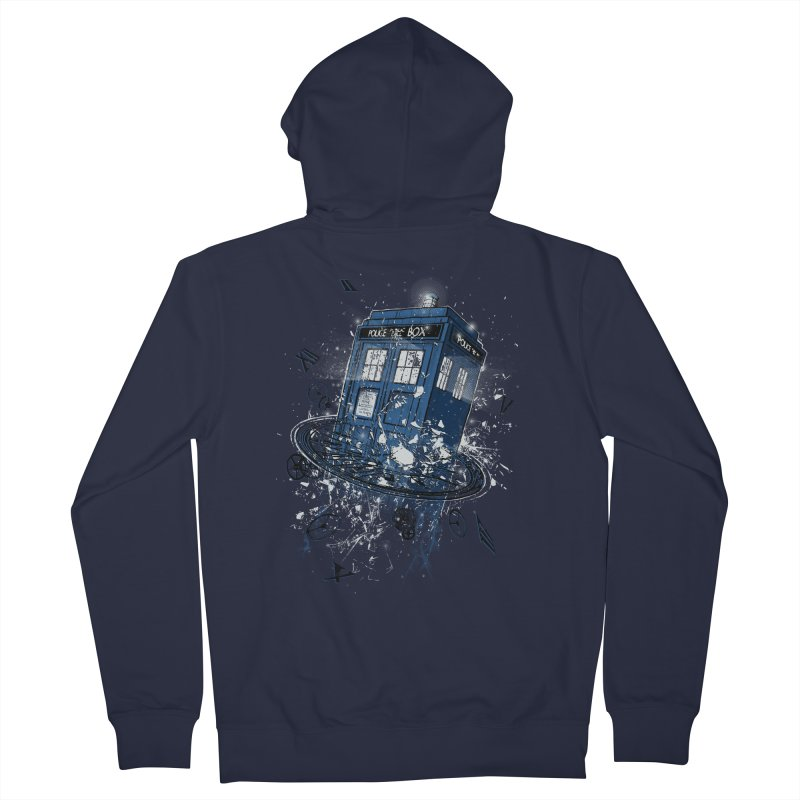 Breaking the Time Men's Zip-Up Hoody by Ricomambo