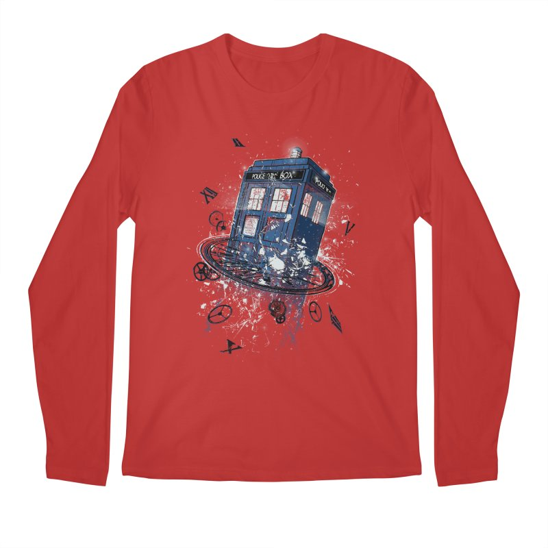 Breaking the Time Men's Longsleeve T-Shirt by Ricomambo