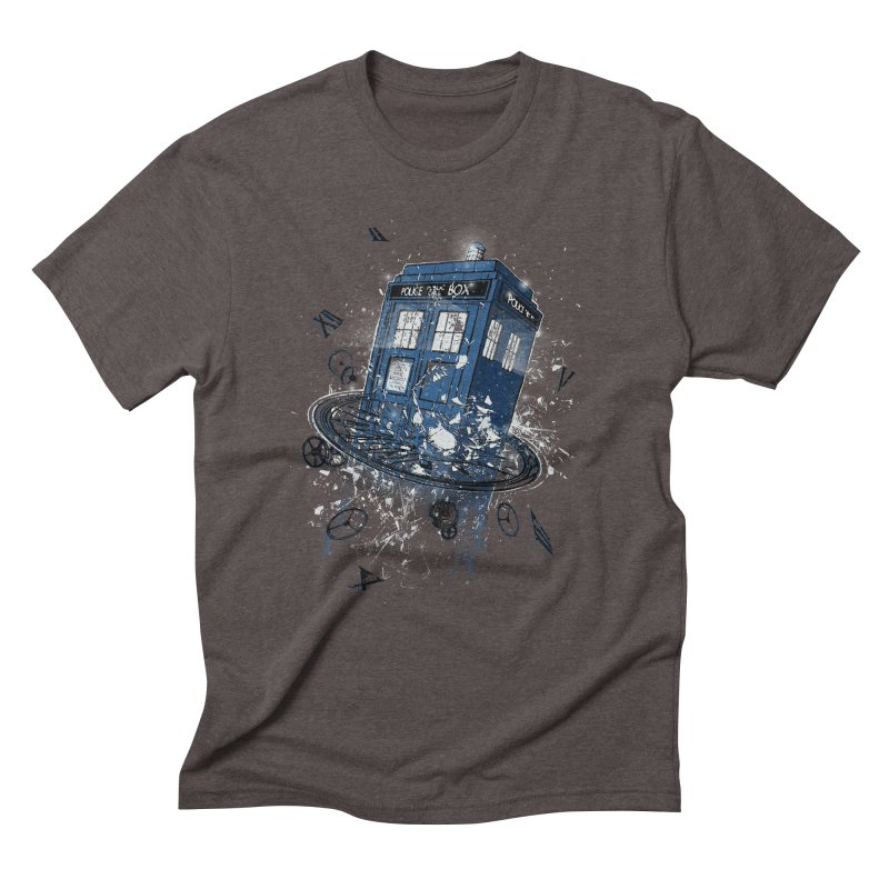 Breaking the Time Men's Triblend T-Shirt by Ricomambo