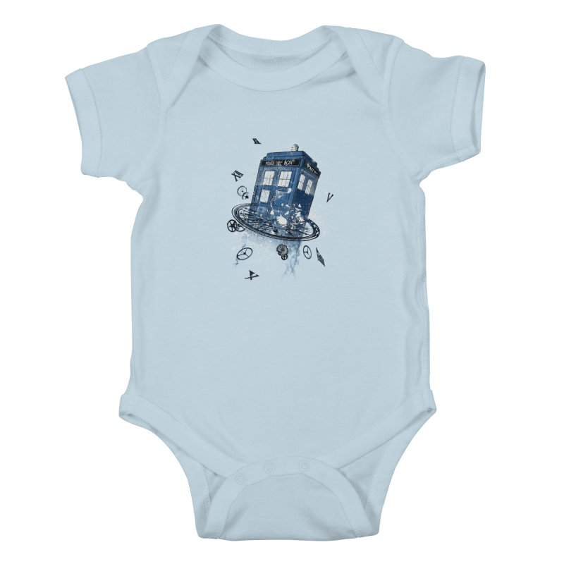 Breaking the Time Kids Baby Bodysuit by Ricomambo