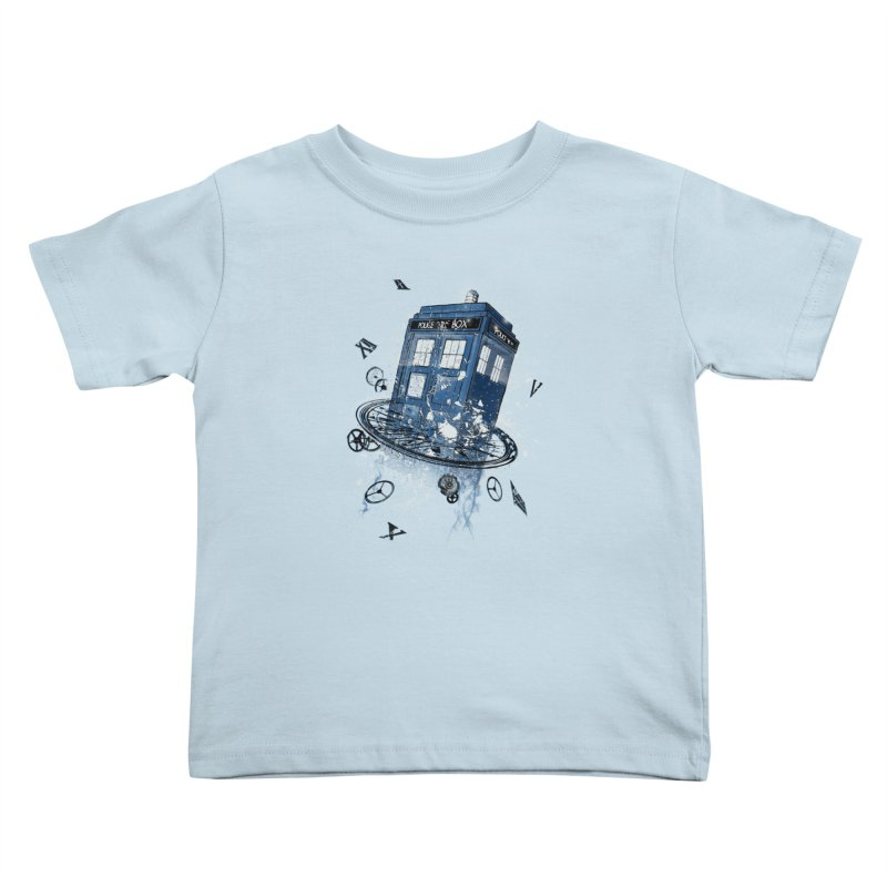 Breaking the Time Kids Toddler T-Shirt by Ricomambo
