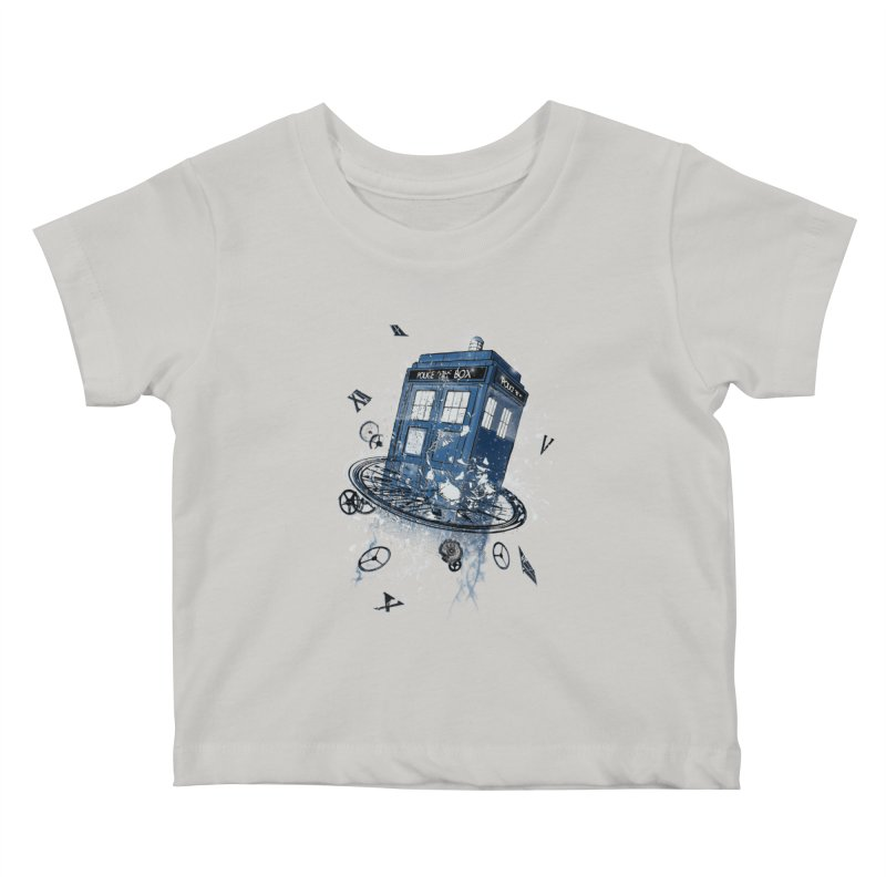 Breaking the Time Kids Baby T-Shirt by Ricomambo