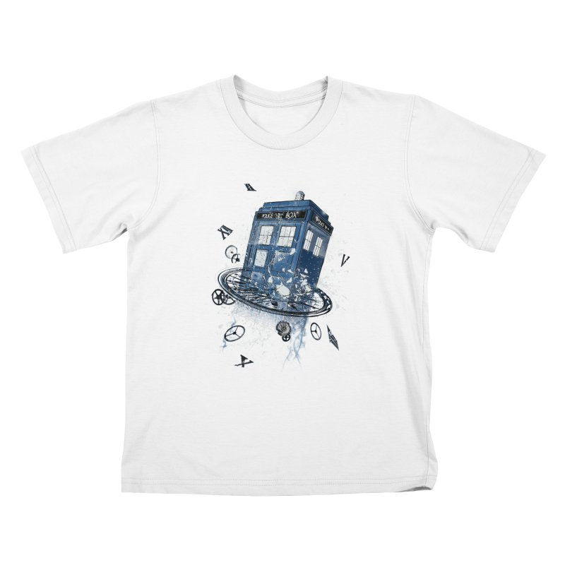 Breaking the Time Kids T-shirt by Ricomambo
