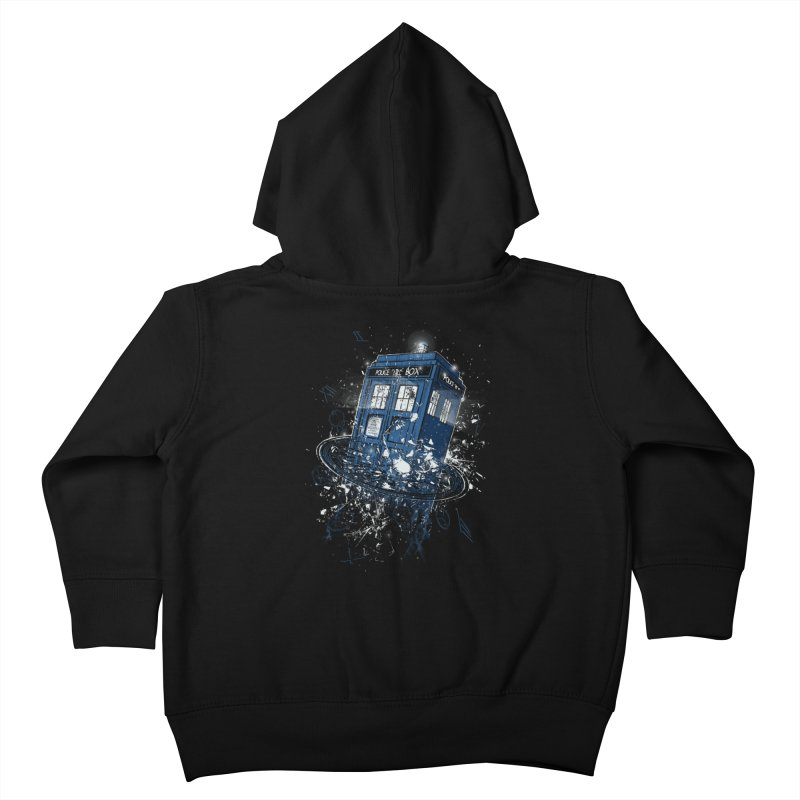 Breaking the Time Kids Toddler Zip-Up Hoody by Ricomambo