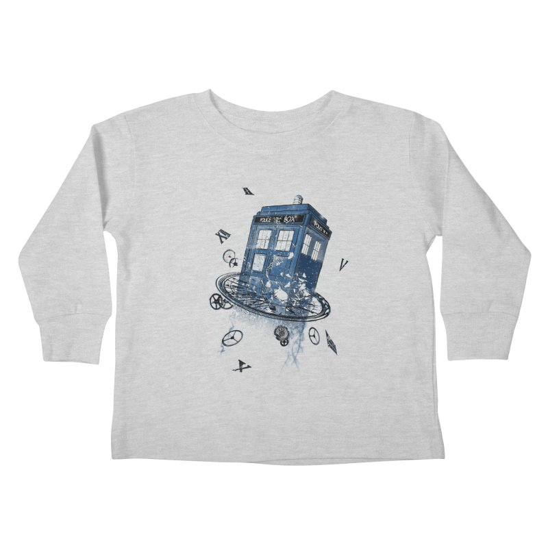 Breaking the Time Kids Toddler Longsleeve T-Shirt by Ricomambo