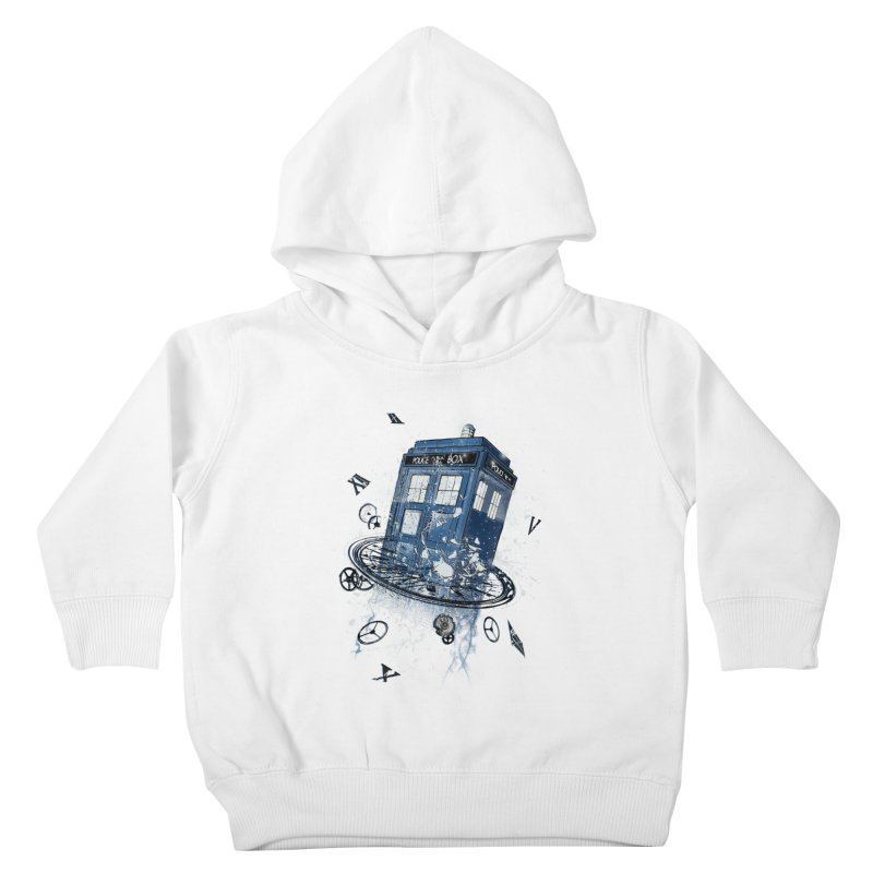 Breaking the Time Kids Toddler Pullover Hoody by Ricomambo