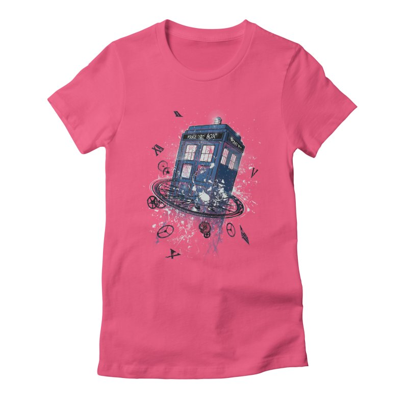 Breaking the Time Women's Fitted T-Shirt by Ricomambo