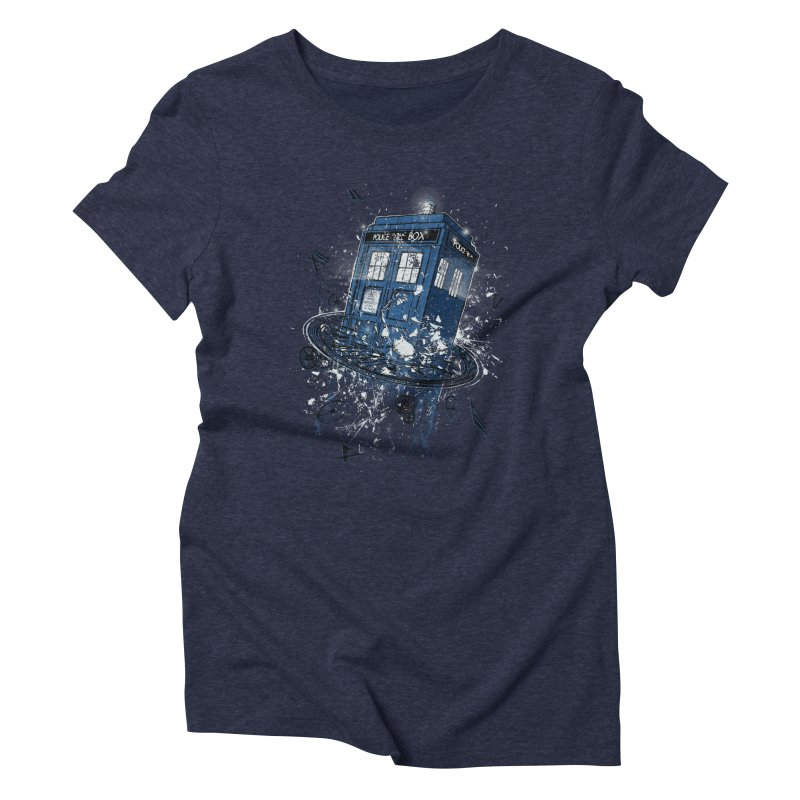 Breaking the Time Women's Triblend T-Shirt by Ricomambo