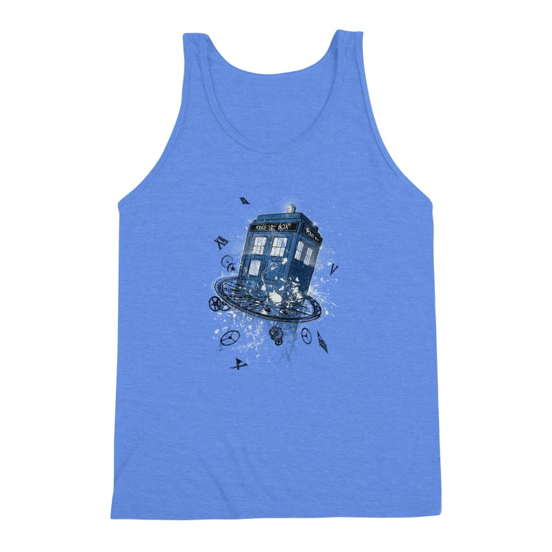 Breaking the Time Men's Triblend Tank by Ricomambo