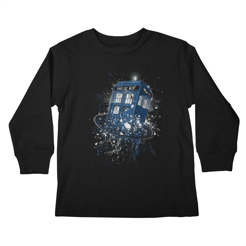 Breaking the Time Kids Longsleeve T-Shirt by Ricomambo
