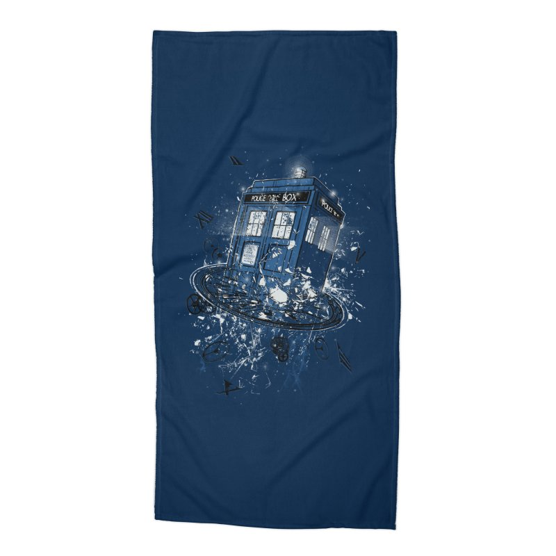 Breaking the Time Accessories Beach Towel by Ricomambo