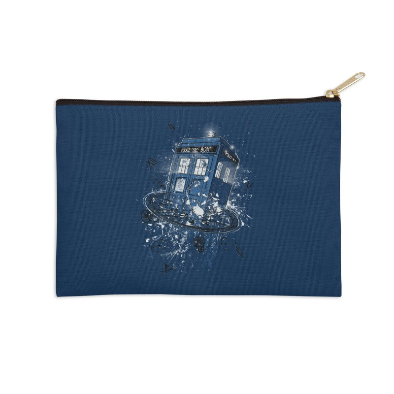 Breaking the Time Accessories Zip Pouch by Ricomambo