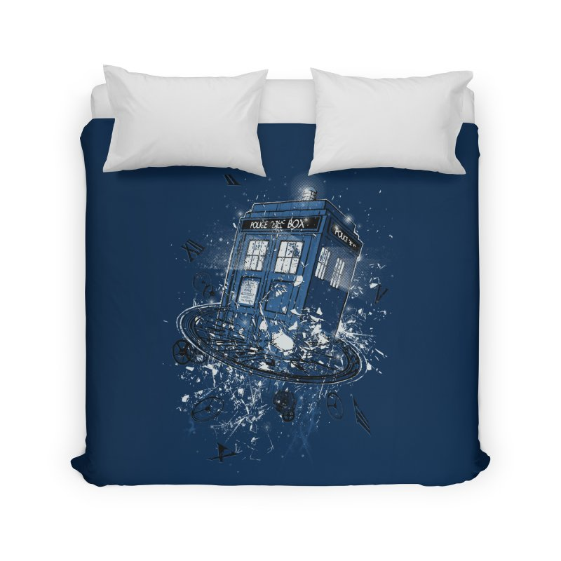 Breaking the Time Home Duvet by Ricomambo