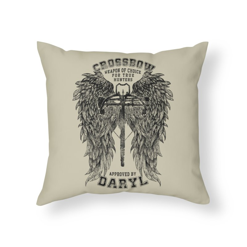 Crossbow Home Throw Pillow by Ricomambo
