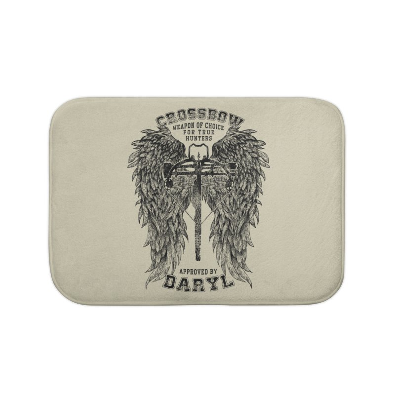 Crossbow Home Bath Mat by Ricomambo