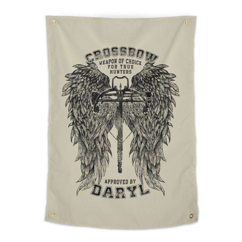 Crossbow Home Tapestry by Ricomambo