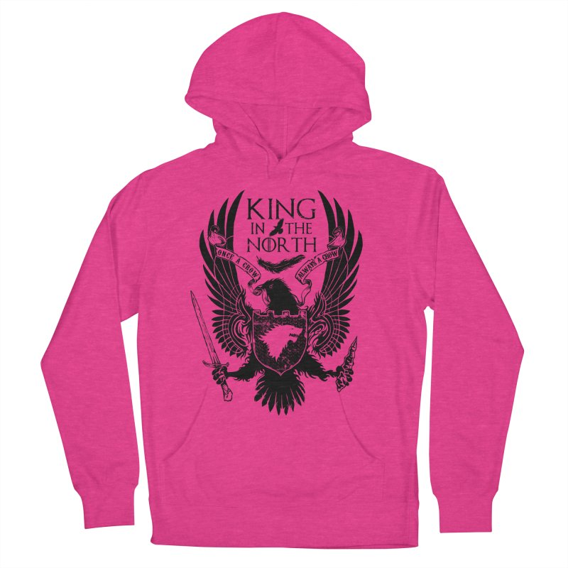 King in the North Men's Pullover Hoody by Ricomambo