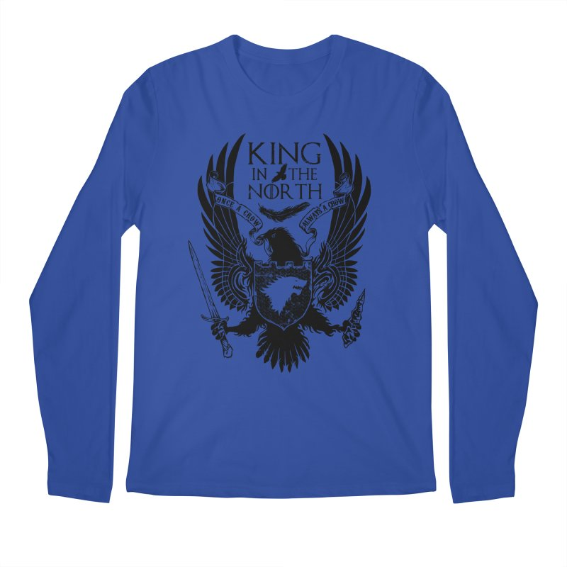 King in the North Men's Longsleeve T-Shirt by Ricomambo
