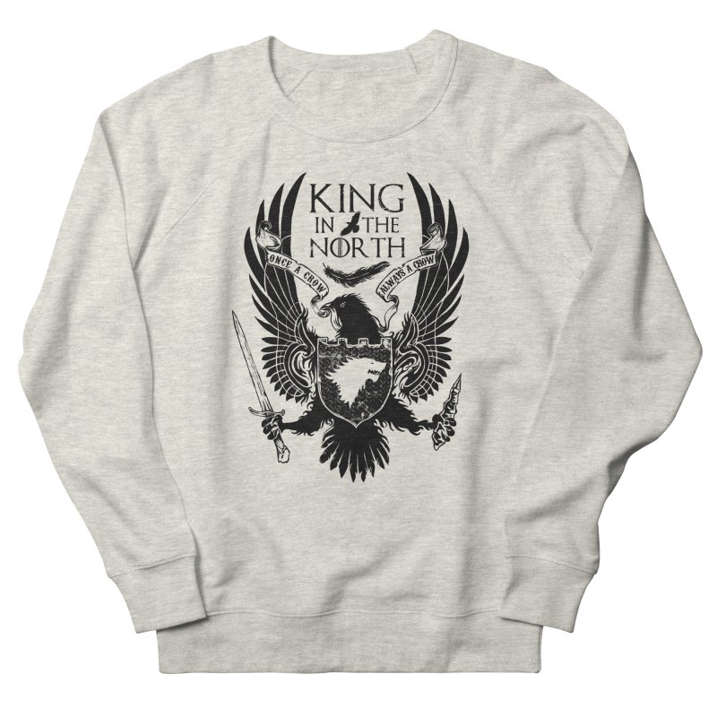 King in the North Women's Sweatshirt by Ricomambo