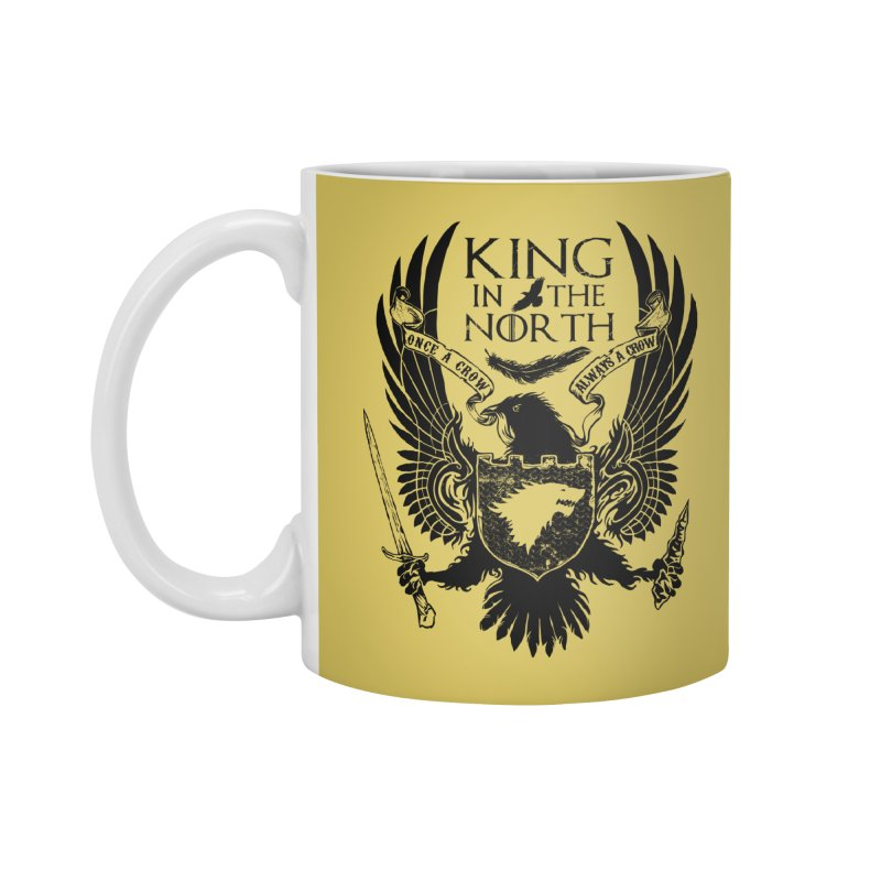 King in the North Accessories Mug by Ricomambo