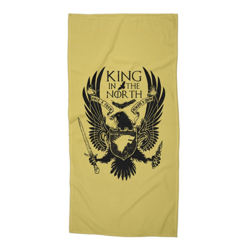King in the North Accessories Beach Towel by Ricomambo