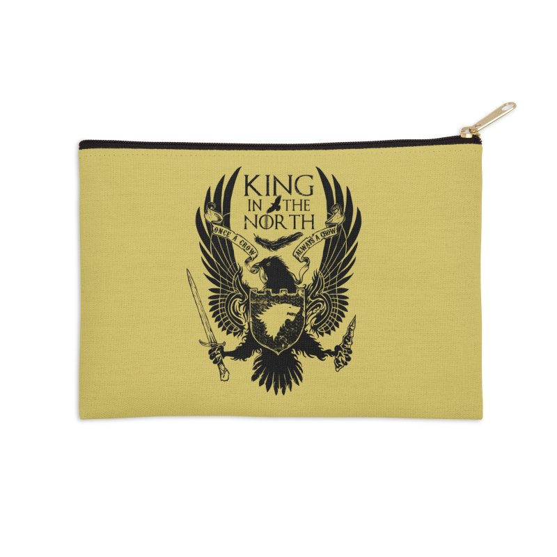 King in the North Accessories Zip Pouch by Ricomambo
