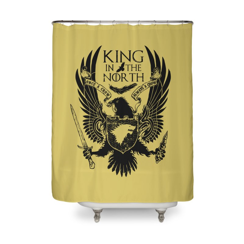 King in the North Home Shower Curtain by Ricomambo