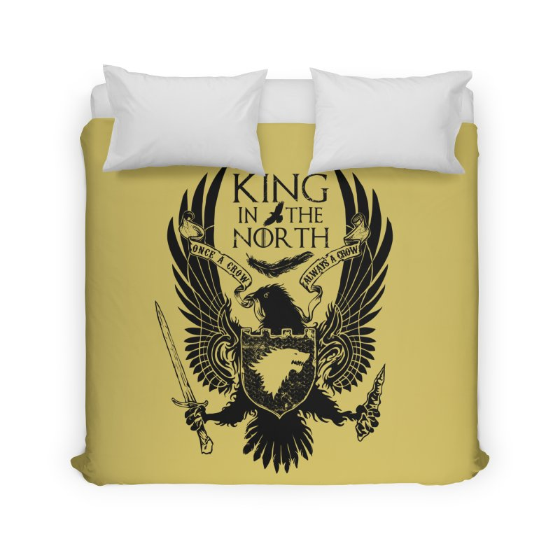 King in the North Home Duvet by Ricomambo