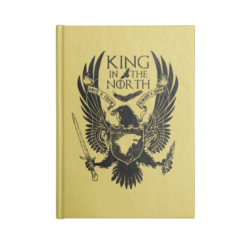 King in the North Accessories Notebook by Ricomambo