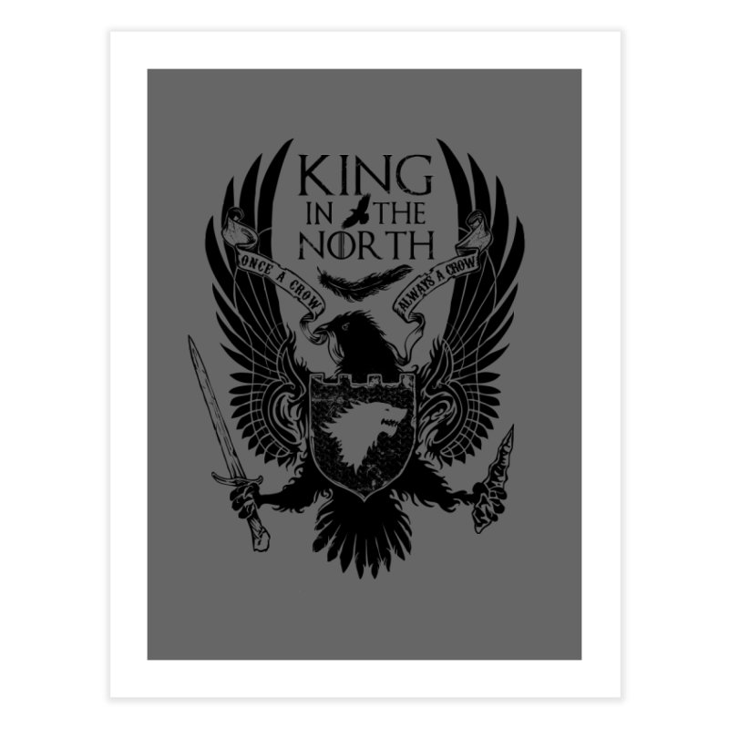 King in the North Home Fine Art Print by Ricomambo