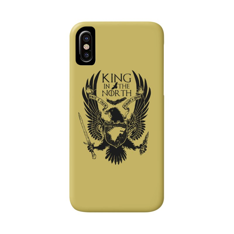 King in the North Accessories Phone Case by Ricomambo