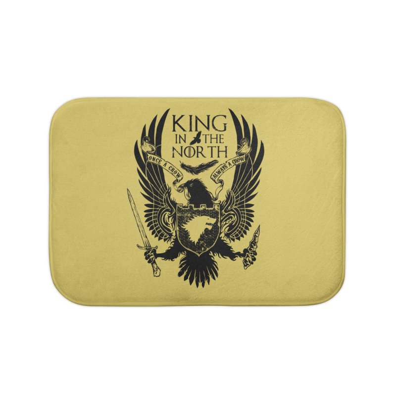 King in the North Home Bath Mat by Ricomambo